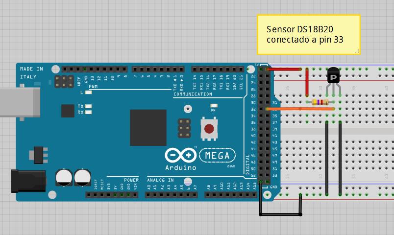 arduino y sensores de temperatura ds18b20