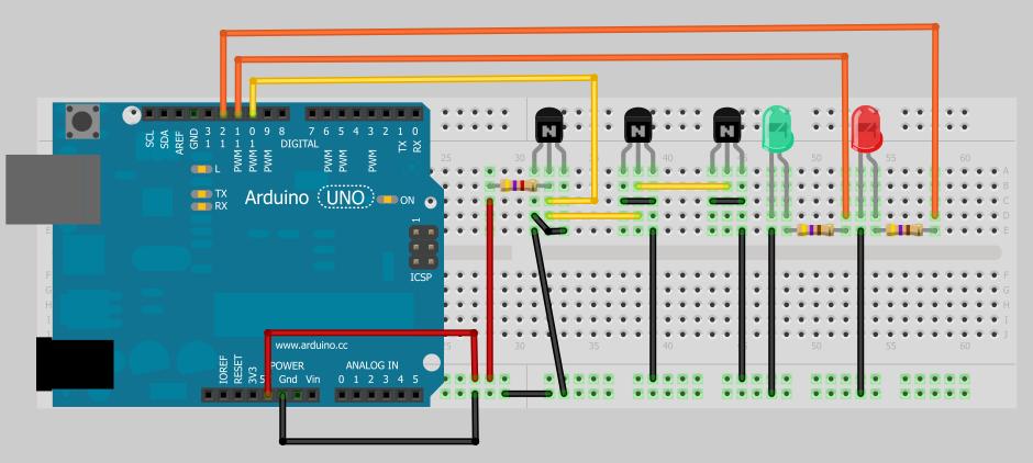 Arduino 1-wire temperature sensors Strangeparty