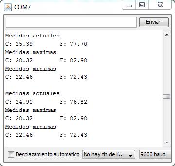 Captura Sensor LM35