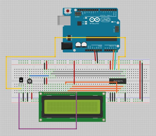 LCD I2C PCF8574